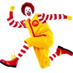 ronald mcdonald clown