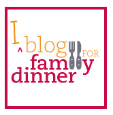 B4FD blog for family dinner badge