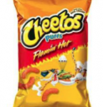Under PHAI's proposal, because regular Cheetos don't meet the Smart Snacks nutritional standards . . .