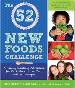 52 new foods book