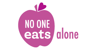 no one eats alone logo