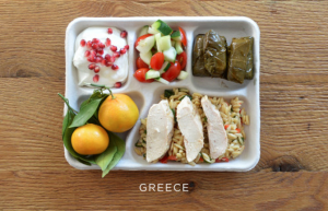 Um, turns out Greece doesn't even HAVE a school meal program, but whatever. Photo credit: Sweetgreen