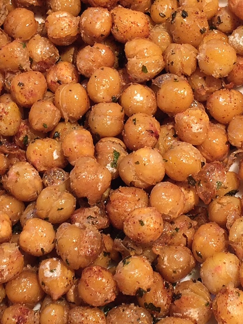 TLT's Table: Fried Chickpeas for Afterschool Snack