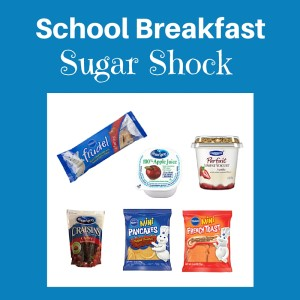 School Breakfast Sugar Shock