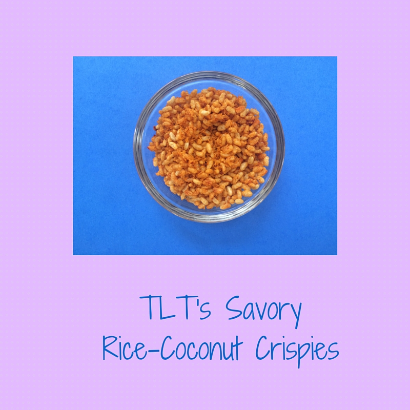 TLT's Savory Rice-Coconut Crispies
