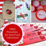 FREE Printables for Non-Food Valentines!