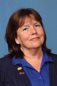 NY School Nutrition Association President Norma Zeller