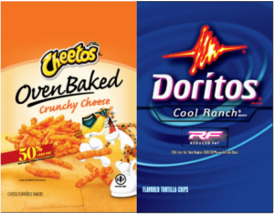 cheetos doritos